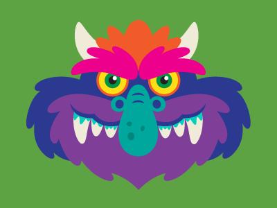 My Pet Monster Illustration design