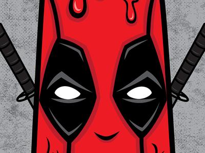 Deadpool Popsicle popsicle deadpool marvel design