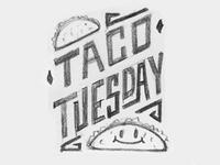 Taco Tuesday Doodle