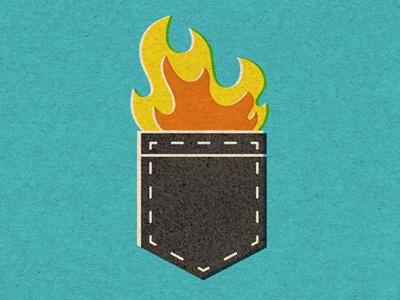 Hot Pocket ilustration