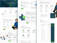 Upwork Enteprise Landing Page upwork enterprise landing page web design ui ux