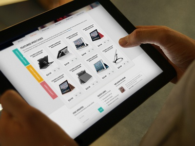 E-Commerce Website Design [Featured Products]