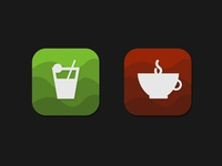 Cocktail and Tea Icons