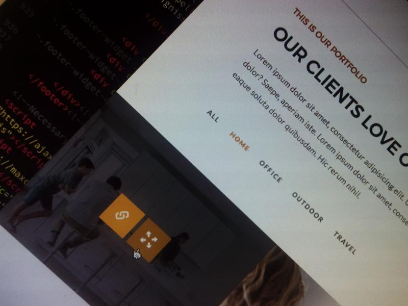 CSS menu #Strikethrough style experiment   portfolio menu web design css