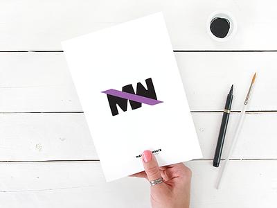 Monogram For Matt monogram logo branding