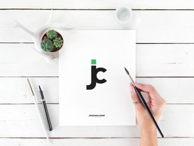 Monogram For Jonathan monogram logo branding