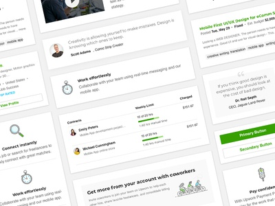 Upwork Email Design Playbook