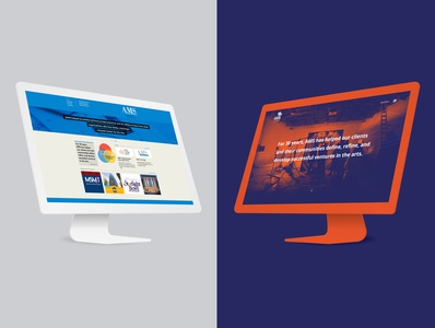 Before After Website redesign brand layout uiux ux ui design website design website