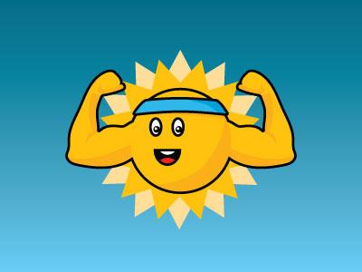 Sunny Stanley flat character illustration identity geometric shape brand logo