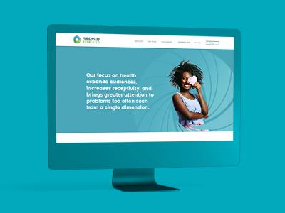 Public Health Advocates Website brand color experience redesign design website