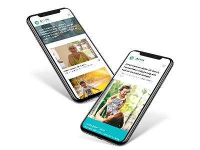 Public Health Advocates Mobile Site user experience web healthcare brand responsive mobile website design