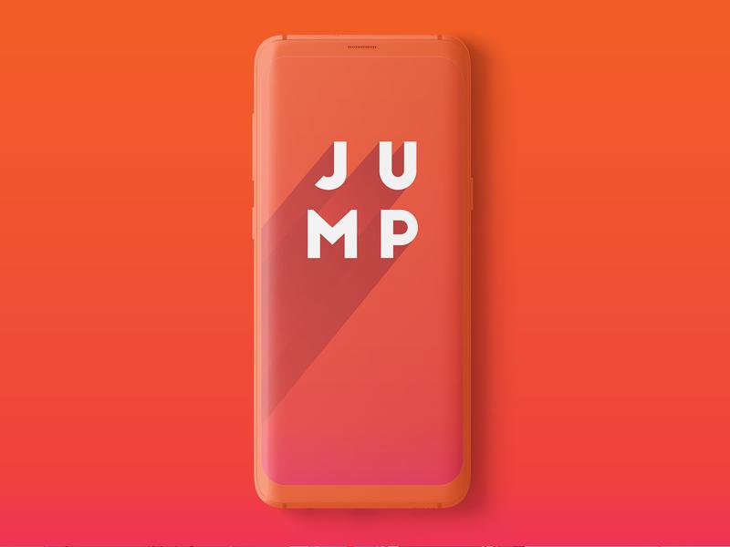 Jumpstart App identity logo branding brand app design app