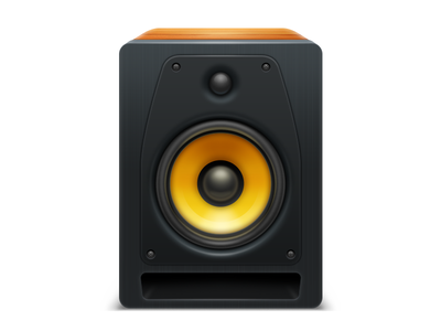 VOX vox music player play sound column turntable icon top macos apple intarface