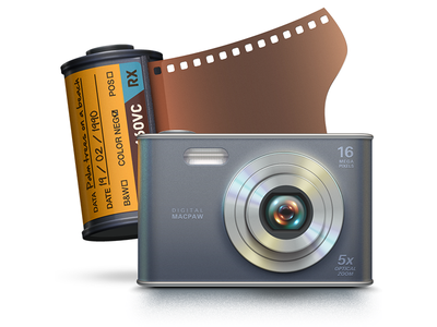 Iphoto Cleanup icon illustrator vector cmm2 photo macpaw camera cleaning film cleaner apple lens iphoto