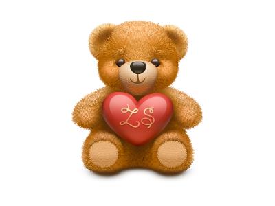 Bear bear teddy teddy bear st valentine love icon illustration vector illustrator hair heart toy