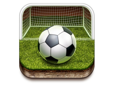 Sport Ios App Icon For Mail.Ru icon application iphone sport ball field gridiron gate grass