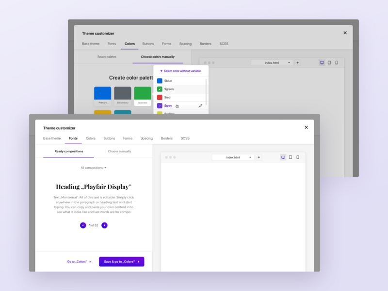 Bootstrap Shuffle #3 - Modal windows modal window modal box modules wireframe start up design ui ux ux design uxd template builder programmers front end editor bootstrap
