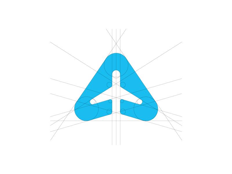 Airplane Logo By Kasparas Sipaviius Dribbble
