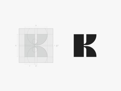 K Modern Symbol