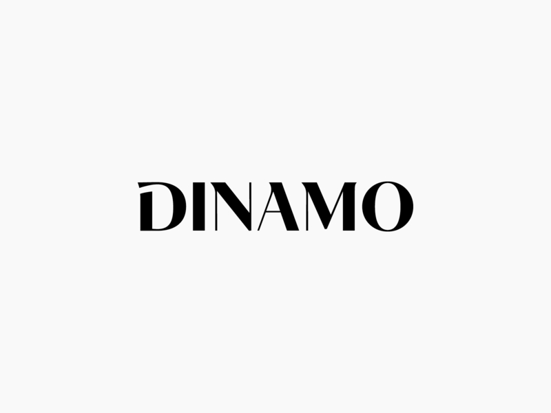 Dinamo Logo Concept type custom typeface typography identity designer bicycles bicycle fashion apparel vector ui design minimal symbol branding web perfect idea iconic logo custom wordmark logotype