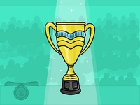 Trophy - Day 10/31 daily illustration challenge