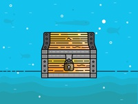 Treasure Chest-day 14/31 - daily illustration challenge