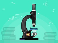 Day 16/31 - Microscope - daily illustration challenge