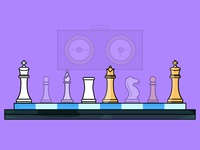 Chess - Day 18/31 - Daily Illustration Challenge