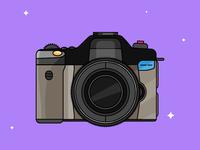Camera - Day 24/31-Daily Illustration Challenge