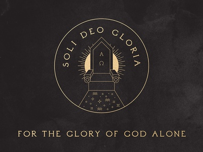 Soli Deo Gloria – 5 Solas of the Protestant Reformation thrones soli deo gloria glory heaven throne 5 solas reformation protestant solus christus christianity christian christ iconography illustration bible