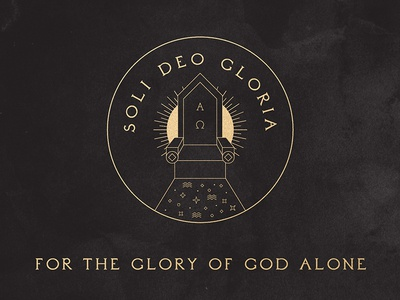 Soli Deo Gloria – 5 Solas of the Protestant Reformation