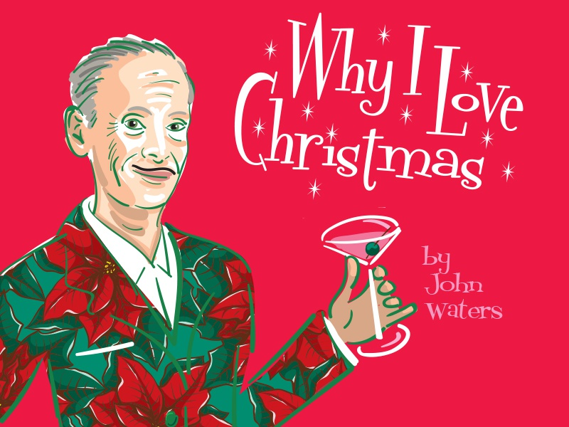 John Waters Christmas.John Waters Christmas By Judith Mayer On Dribbble