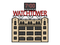 Brooklyn Watchtower Sign