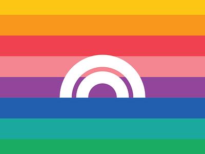 🌈Full Spectrum Hemp Packaging cbd laxalt denver logo vector health hemp rainbow spectrum packaging typography reno branding identity design nevada brooklyn illustration