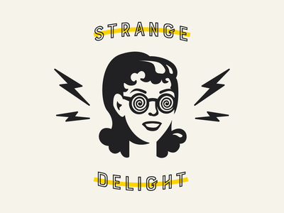 Weirdough - Identity punk lightning new york cookie badge brooklyn nyc typography illustration design brand