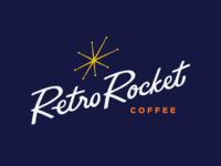 RetroRocket - Brandmark