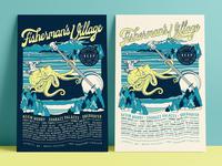 Fisherman's Village - Lineup Posters 🐙