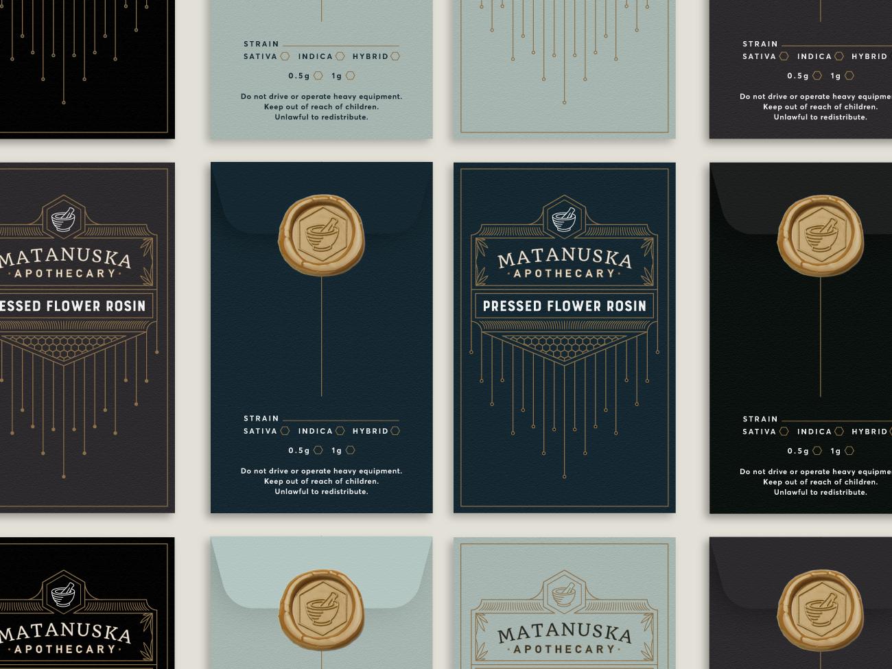 Matanuska apothecary penny envelopes