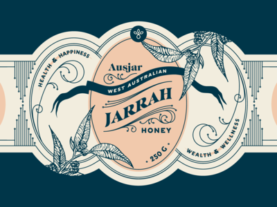 Jarrah Honey Label
