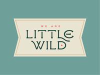 Little wild logotype