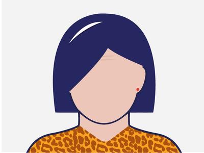 Persona character design (work in progress) graphic design art direction