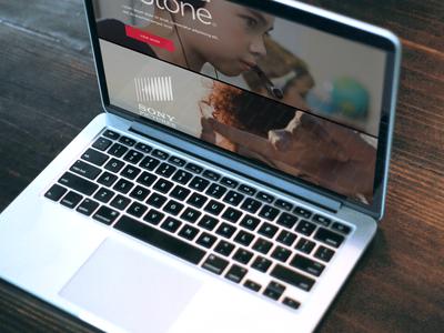 Image grid case studies page (work in progress) art direction web design graphic design