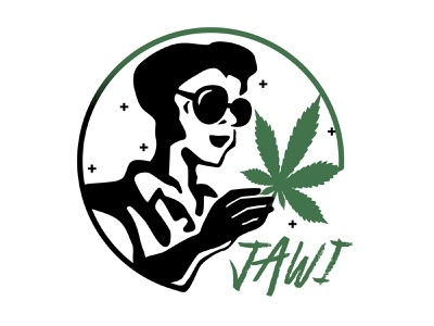 Jawi Grown logo design dispensary weed graphic design logo design marijuana logo identity branding