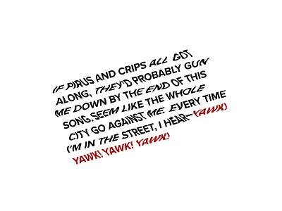 good kid, m.A.A.d city 2 red and black tde top dawg rap music maad city good kid kendrick lamar lettering wavy font exploration lettering exploration