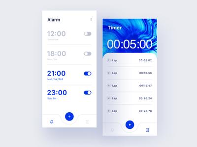 Alarm/Timer Concept 🕒