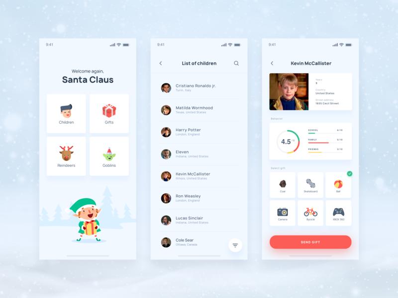 Exclusive App for Santa Claus