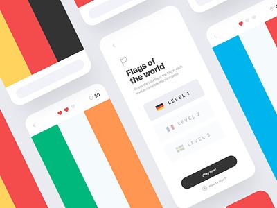 Flag game design app app concept app agency web design agency ui design ux design ui ux designer ux designer ui ux design ux design web landing page inspiration ui ux ui web design interaction minimalist