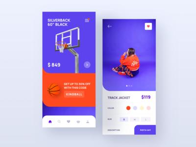 Basketball Shop Concept