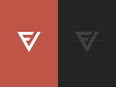 FV Monogram typography sans-serif identity branding logo monogram