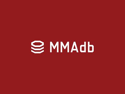 MMAdb database sports fighting ufc mma sans-serif logo identity branding